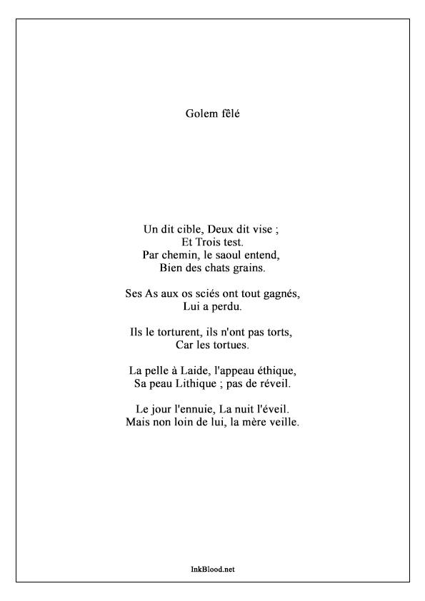 Golem-Fêlé