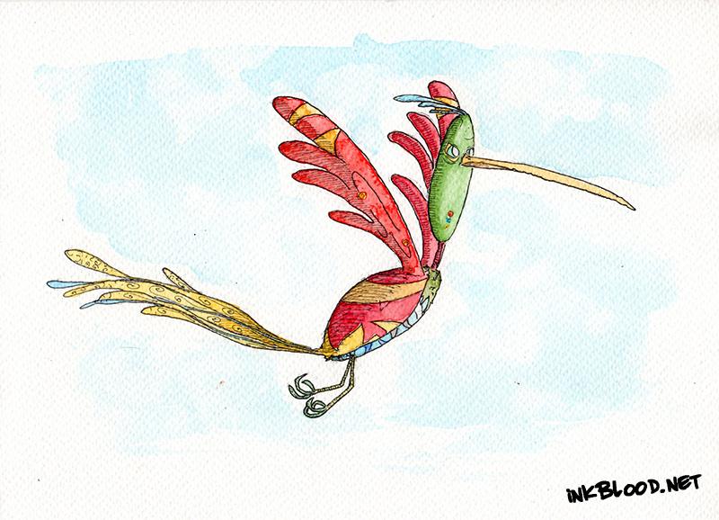 Oiseaux-Aquarelle-Inkblood-Moustibri