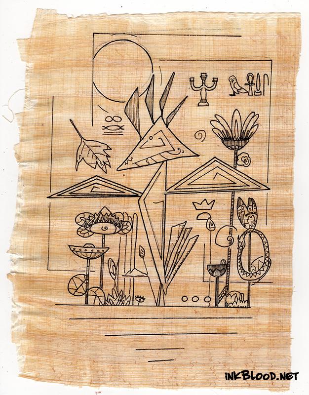 Oiseaux-Papyrus-Inkblood-Papyrus