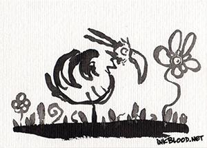 Oiseaux-Inkblood-Encre-de-Chine-Calme
