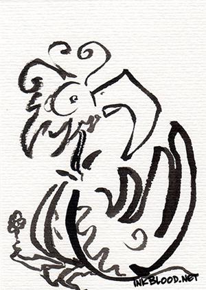 Oiseaux-Inkblood-Encre-de-Chine-Horizon