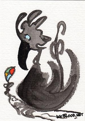 Oiseaux-Inkblood-Encre-de-Chine-Regret