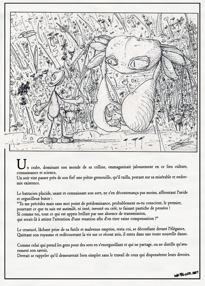 le-crabe-et-la-grenouille-inkblood