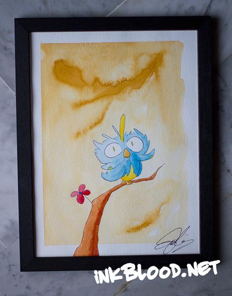 aquarelle-oiseau-petit-hibou-inkblood-net